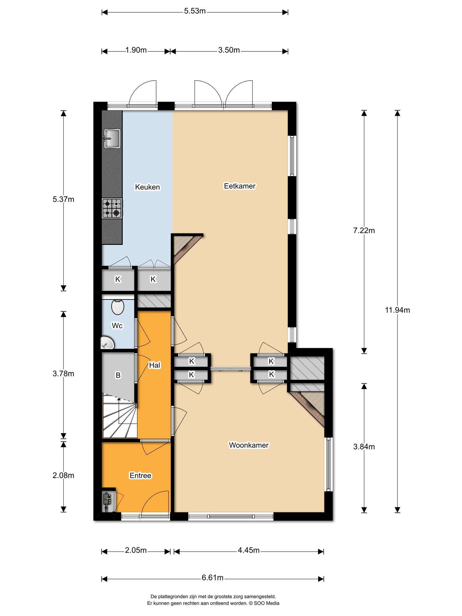 Te huur : Woonhuis Camphuysenlaan 4 in Heemstede