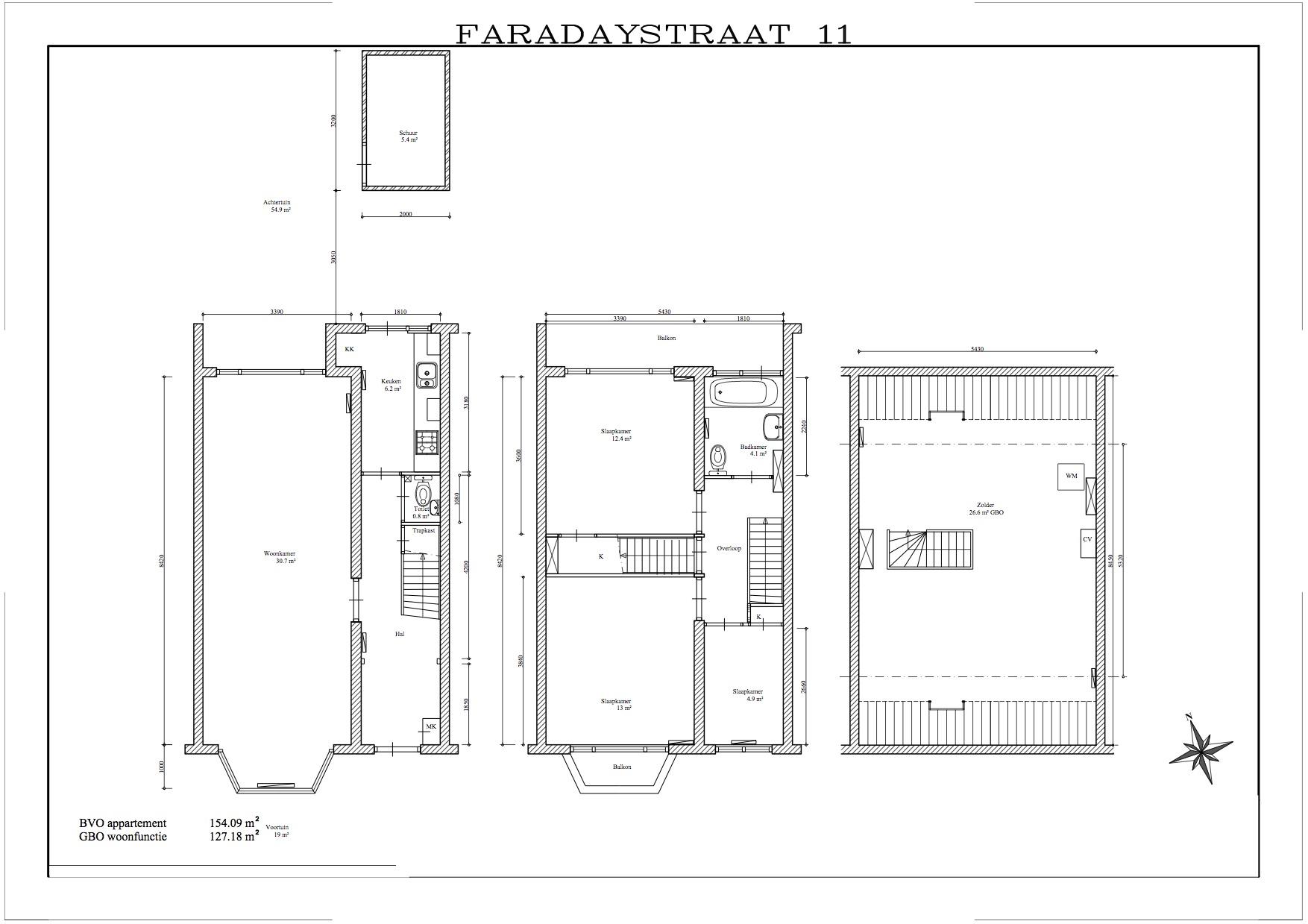 Te huur : Woonhuis Faradaystraat 11 in Haarlem